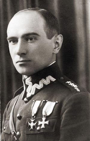Kazimierz Iranek-Osmecki - Kazimierz Iranek-Osmecki, nom de guerre Pstrąg (among others)
