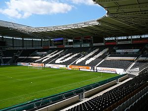 KCOM Stadium - Image: KC North Stand
