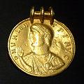 KHM Wien 32.472 - Germanic Valens medal, 378 AD or later.jpg