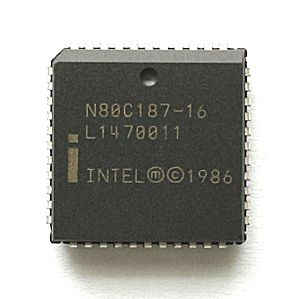 X87 - 16 MHz version of the Intel 80187