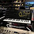 KORG MS-20 mini & KingKORG @ Ishibashi Music, Shibuya, 2013-04-13.jpg