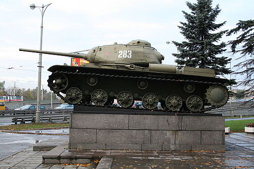 KV-85 left side view