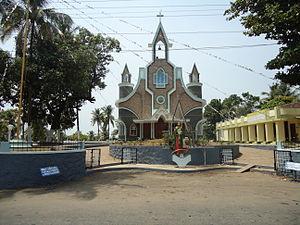 Malayattoor - Mary Immaculate Church, Vimalagiri, Malayattoor