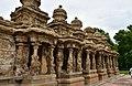 Kailasanatha Temple, dedicated to Shiva, Pallavve period, early 7th century, Kanchipuram (5) (23606239408).jpg