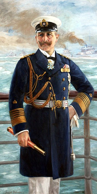 Wilhelm II in 1913 - Imperial German Navy