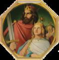 Kaisersaal Frankfurt am Main, Nr. 05 und 06 - Arnulf von Kärnten und Ludwig das Kind, (Johann Jakob Jung).png