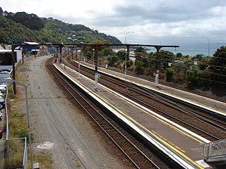Kaiwharawhara railway station railway station