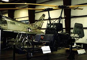 Kaman K-225 - K-225 displayed at the New England Air Museum, Windsor Locks, Connecticut, in June 2005