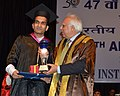 Kapil Sibal giving away the gold medal, at the 47th Annual Convocation of Indian Institute of Management (IIM), Joka, in Kolkata on April 02, 2012.jpg