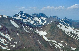 Syunik Province - Mount Kaputjugh (3905 m.)
