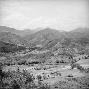 Chinese Spring Offensive - Image: Kapyong South Korea 1952 (AWM HOBJ3147)