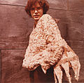 Karakul fur, pullover and bag, 1982.jpg
