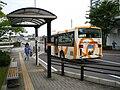 Kariya-Toyota Sōgōbyōin Bus stop.jpg
