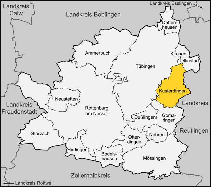 Datei:Karte Kusterdingen.png