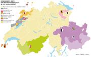 Karte Zugewandte Orte