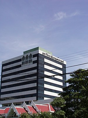 Chatuchak District - The Kasetsart University administration building