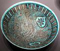 Kashan, iran, ciotola con sfinge, XII-XIII sec..JPG