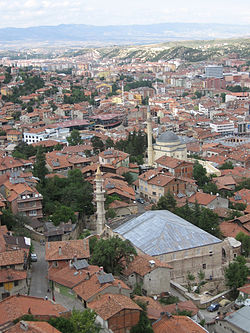 Kastamonu viewed from the citadel