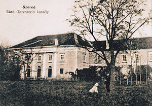 Sereď - Image: Kastiel sered