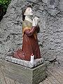 Katwijk Rijksmonument 517525 Lourdesgrot Bernadettebeeld.JPG