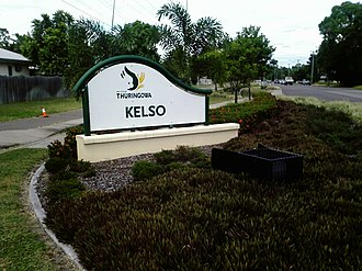 Kelso, Queensland - Image: Kelso Queensland sign