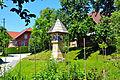 Keutschach Leisbach Polzerkreuz fatum 1680 Suedostseite 27062011 494.jpg