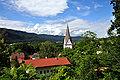 Keutschach Pfarrkirche heilier Georg Kirchturmspitze 19062010 31.jpg