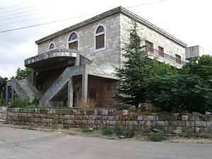 Kfarshakhna - Old house