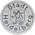 Kfz-Zulassungsplakette Stadt Heidelberg alt Perforation retuschiert.jpg