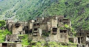 Shatili - Shatili village