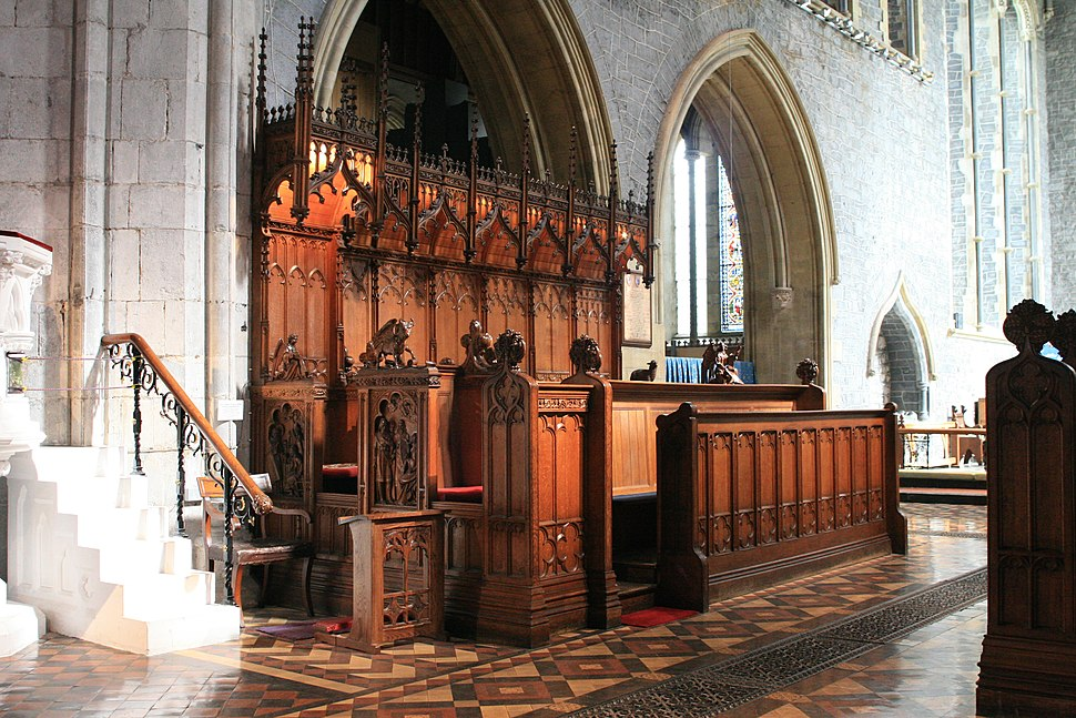 Kilkenny St Canice Cathedral Stalls 2007 08 28