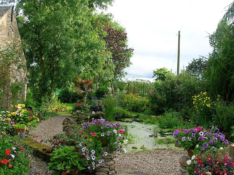 łądny ogród