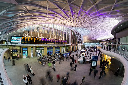 Kings Cross Station Western Concourse