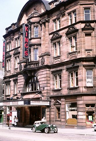 "King's Theatre, Edinburgh - ""The King's"" in 1981"