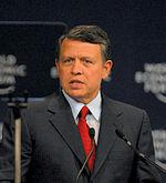 King Abdullah portrait