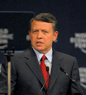 2011–12 Jordanian protests -  King Abdullah II