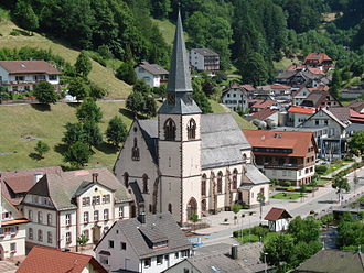 Bad Peterstal-Griesbach - Catholic church in Bad Griesbach