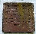 Kirkpatrick Macmillan plaque, Courthill Smithy, Keir Mill, Penpont, Dumfries & Galloway.jpg