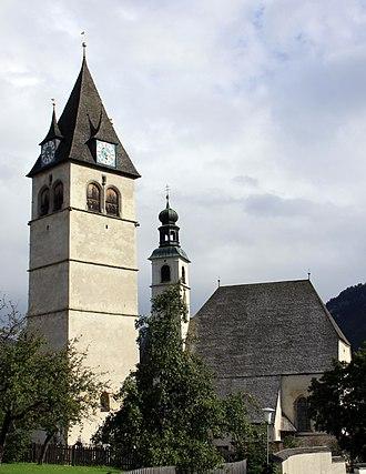 Kitzbühel - Image: Kitzbuhel Liebfrauenkirche Pfarrkirche Andreas