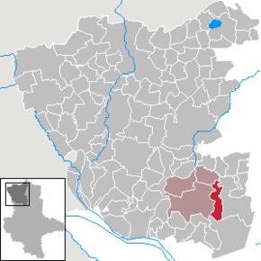 Location of Kloster Neuendorf in Altmarkkreis Salzwedel district prior to its merger into Gardelegen