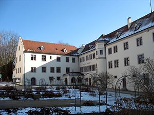 Petershausen Abbey - Image: Kloster Petershausen 09