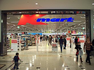 Kmart Australia - A Kmart store within Eastland Shopping Centre, Ringwood, an eastern suburb of Melbourne.