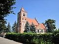 Kościół parafialny pw. św. Jadwigi w Nieszawie-widok od strony ulicy Stanisława Noakowskiego.jpg