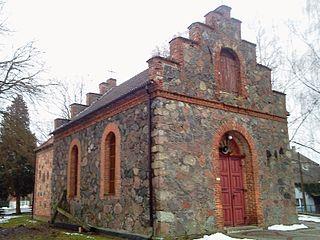 Radowo Małe Village in West Pomeranian, Poland