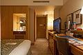 Kobe Portopia Hotel Oval Club single bedroom 20130621-002.jpg
