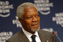 Kofi Annan at World Economic Forum on Africa 2007.jpg