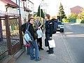 Konferencja Wikimedia 2007 - zagubieni w akcji - przed warsztatem.jpg