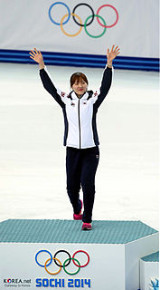 Park Seung-hi South Korean short track speed skater and speed skater