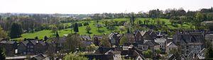 Kornelimünster/Walheim - View of Kornelimünster, with Walheim on the horizon