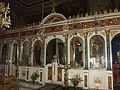 Koroni - Ikonostase der Kirche Panagia Eleistria.JPG